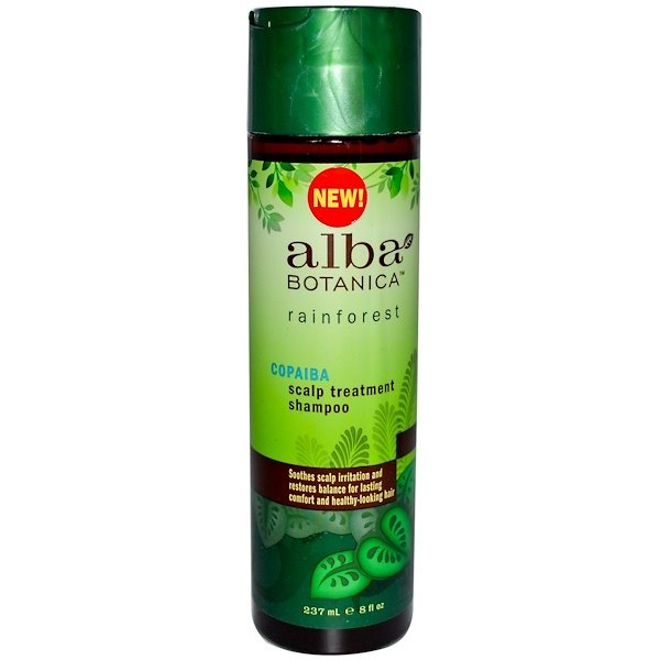 Alba Botanica, Copaiba Scalp Treatment Shampoo, 8 fl oz (237 ml) (Discontinued Item)