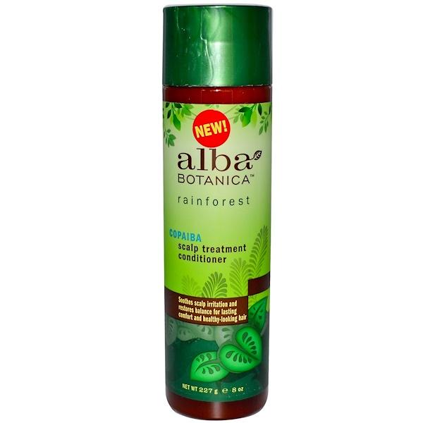 Alba Botanica, Copaiba Scalp Treatment Conditioner, 8 oz (227 g) (Discontinued Item)