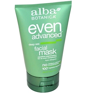 Alba Botanica, Even Advanced, Deep Sea, Facial Mask, 4 oz (113 g)