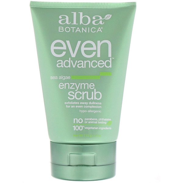 Even Advanced, Enzyme Scrub, Sea Algae, 4 oz (113 g)