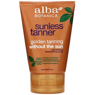 Alba Botanica, Sunless Tanner, 4 oz (113 g)