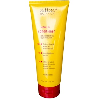 Alba Botanica, Leave-in Conditioner, 무향, 7 oz (198 g)
