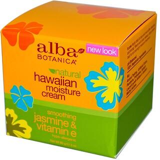 Alba Botanica, Hawaiian Moisture Cream, Jasmine & Vitamin E, 3 oz (85 g)