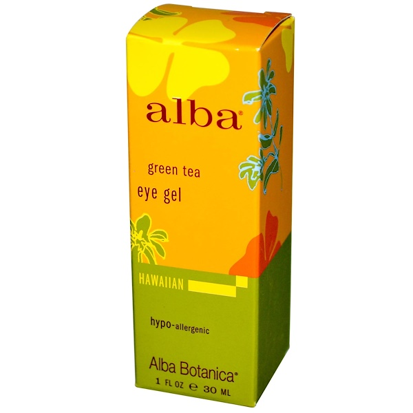 Alba Botanica, Green Tea, Eye Gel, 1 fl oz (30 ml) (Discontinued Item)