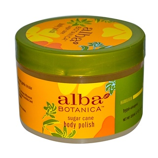 Alba Botanica, Body Polish, Sugar Cane, 10 oz (284 g)