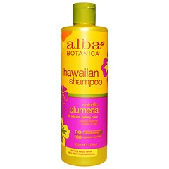 Alba Botanica, 夏威夷天然洗髮水,彩色緬梔花,12 液量盎司(355 毫升)
