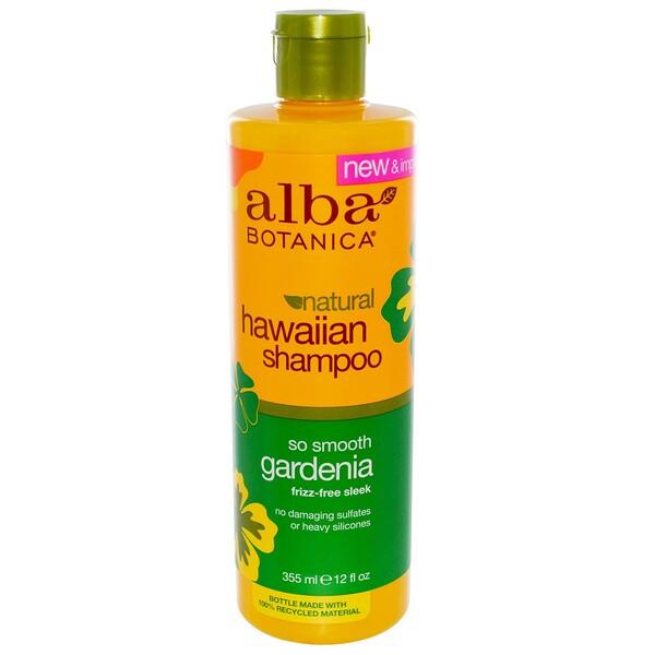 Natural Hawaiian Shampoo, So Smooth Gardenia, 12 fl oz (355 ml)