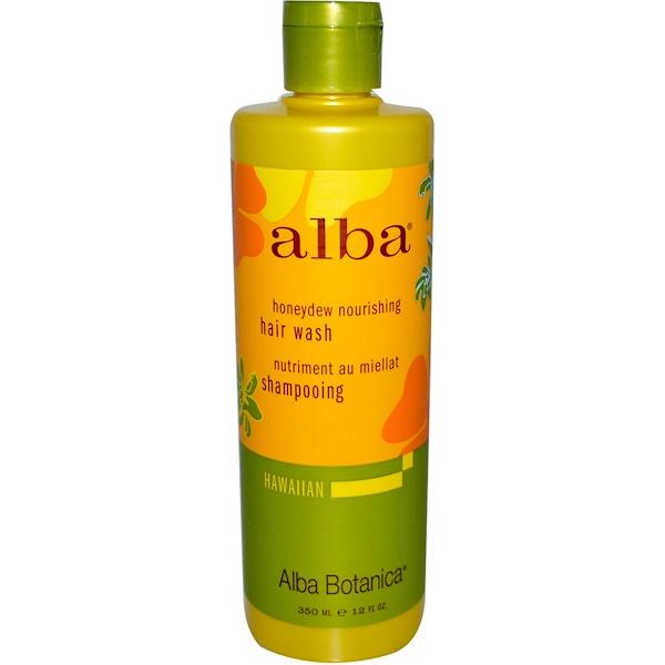 Alba Botanica, Honeydew Nourishing Hair Wash, 12 fl oz (350 ml) (Discontinued Item)