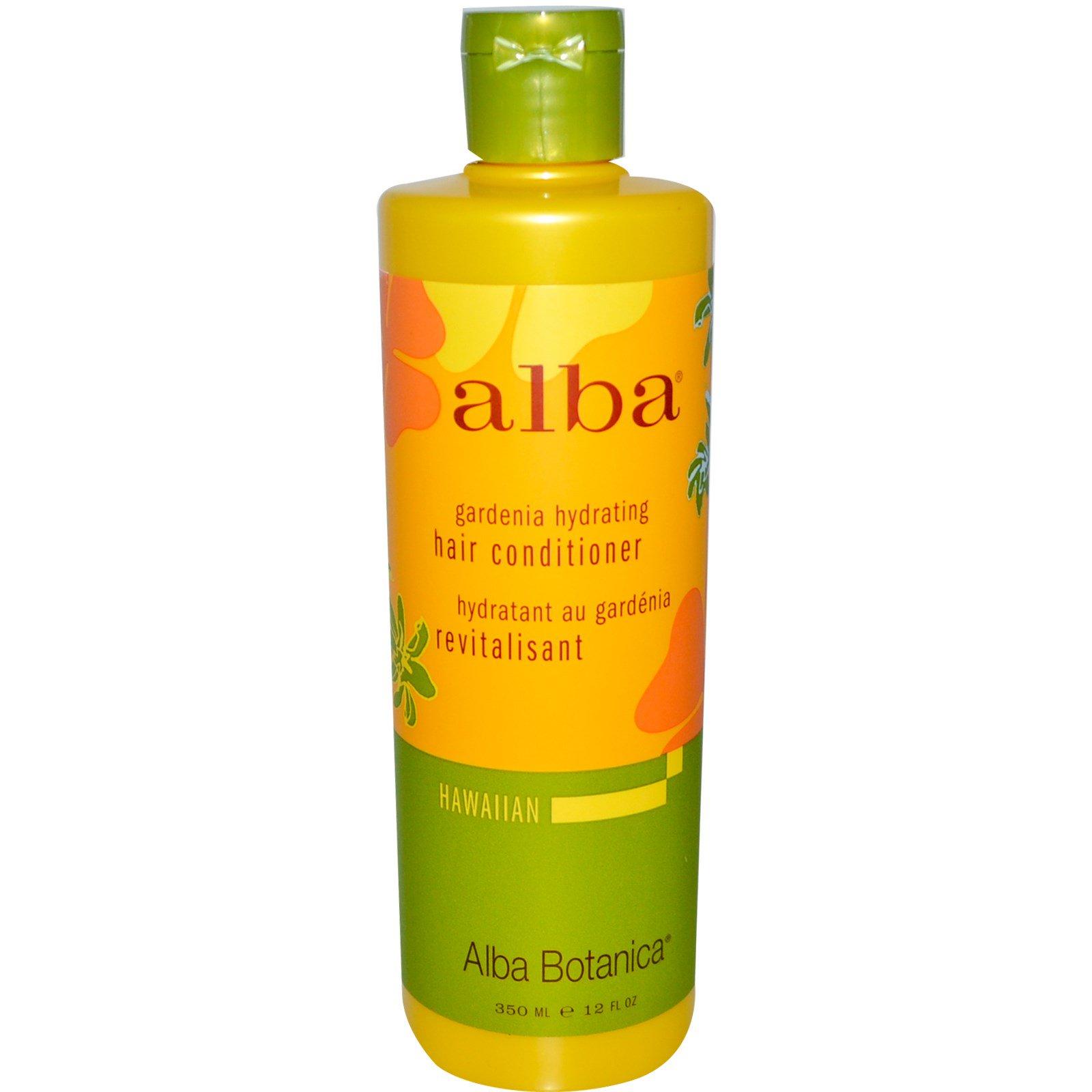 Alba Botanica, Увлажняющй Кондиционер для Волос с Гарденией 12 жидких унции (350 мл)