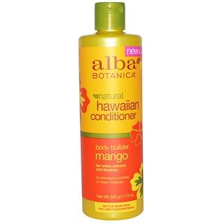 Alba Botanica, Natural Hawaiian Conditioner, Body Builder Mango, 12 oz (340 g)