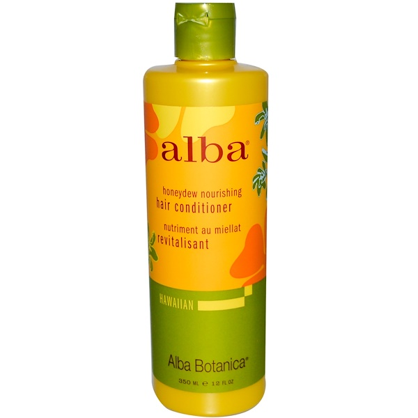 Alba Botanica, Honeydew Nourishing Hair Conditioner, 12 fl oz (350 ml) (Discontinued Item)