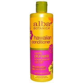 Alba Botanica, Hawaiian Conditioner, Colorific Plumeria, 12 oz (340 g)