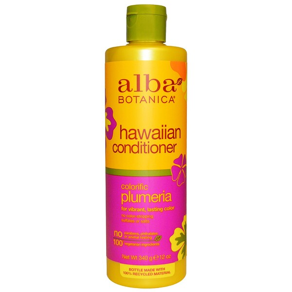 Hawaiian Conditioner, Colorific Plumeria, 12 oz (340 g)