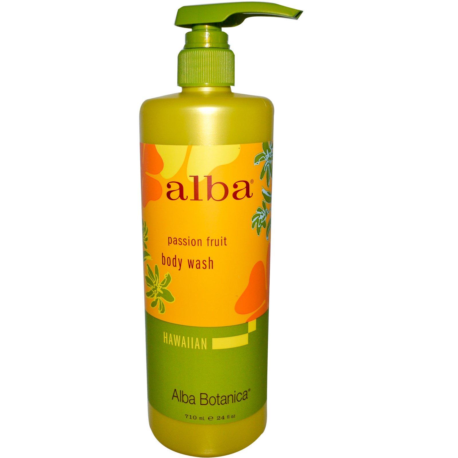 Alba Botanica, Средство для мытья тела, маракуйя, 710 мл