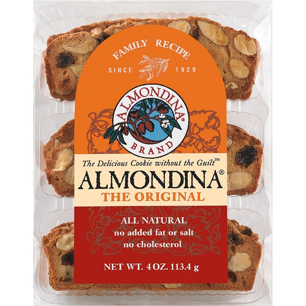 Almondina, The Original Almond Biscuits, 4 oz (113 g)