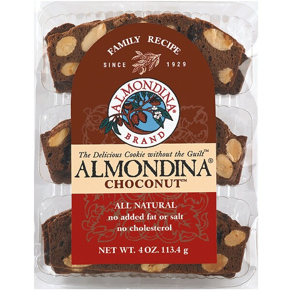 Almondina, Choconut, Almond and Chocolate Biscuits, 4 oz (113 g)