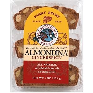 Алмондина, Gingerspice, Almond and Ginger Biscuits, 4 oz (113 g) отзывы покупателей