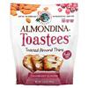 Almondina, Toastees, Toasted Almond Thins, Cranberry Almond, 5.25 oz (149 g)