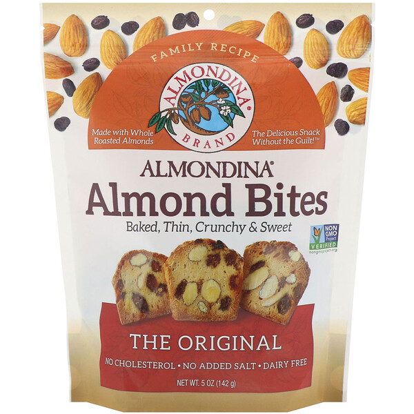 Almond Bites, The Original, 5 oz (142 g)