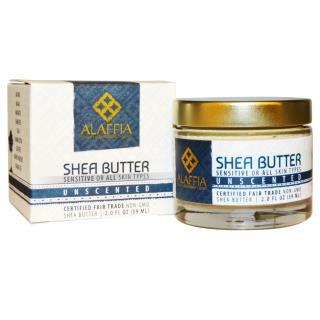 Alaffia, Shea Butter, Unscented, 2.0 fl oz (59 ml)