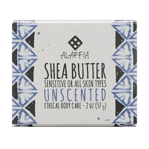 Alaffia, Shea Butter, Unscented, 2 oz (57 g) купить на iHerb