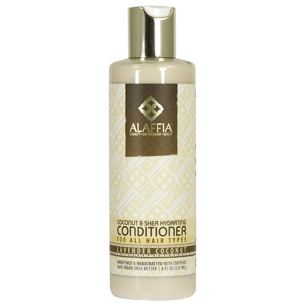 Alaffia, Coconut & Shea Daily Hydrating Conditioner, Lavender Coconut, 8.0 fl oz (235 ml) (Discontinued Item)