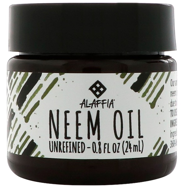 Alaffia, Neem Oil, Unrefined, 0.8 fl oz (24 ml)