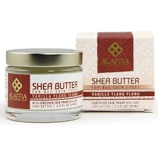 Alaffia, Shea Butter, Vanilla Ylang Ylang, 2.0 fl oz (59 ml)