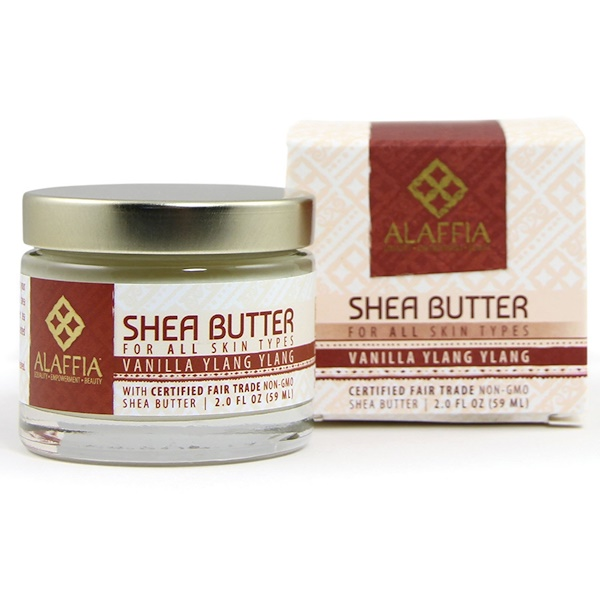 Alaffia, Shea Butter, Vanilla Ylang Ylang, 2.0 fl oz (59 ml) (Discontinued Item)