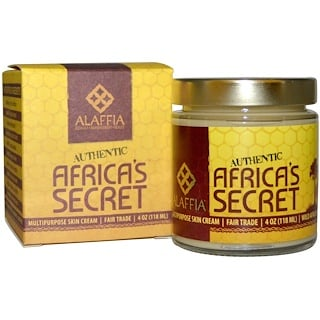 Alaffia, Authentic Africa's Secret, Multipurpose Skin Cream, 4 oz (118 ml)