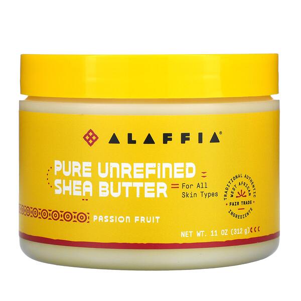 Pure Unrefined Shea Butter, Passion Fruit, 11 oz (312 g)