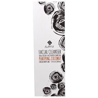 Alaffia, Facial Cleanser, Purifying Coconut , 3.4 fl oz (100 ml)