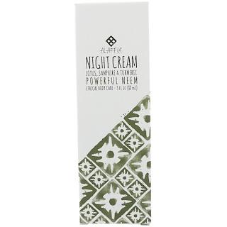 Alaffia, Night Cream, Powerful Neem, 3 fl oz (88 ml)