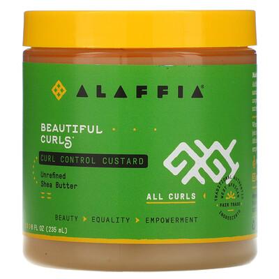 Купить Alaffia Beautiful Curls, крем для послушных локонов, для любых локонов, нерафинированное масло ши, 235мл (8жидк. унций)