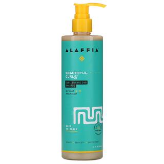 Alaffia, Beautiful Curls, Curl Enhancing Shampoo, Wavy to Curly, Unrefined Shea Butter, 12 fl oz (354 ml)