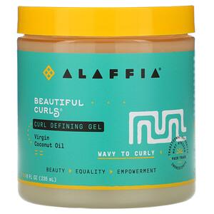 Алаффия, Beautiful Curls, Curl Defining Gel, Wavy to Curly, Virgin Coconut Oil, 8 fl oz (235 ml) отзывы