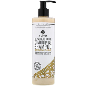 Алаффия, Repair & Restore, Conditioning Shampoo with Baobab & Argan, 12 fl oz (354 ml) отзывы