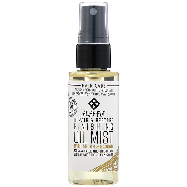 Repair & Restore, Finishing Oil Mist with Argan & Baobab, 2 oz (59 ml)