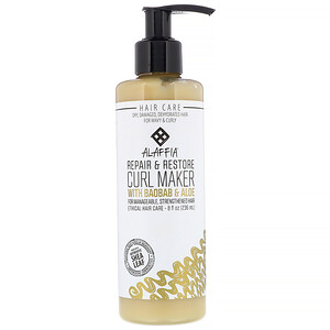 Алаффия, Repair & Restore, Curl Maker with Baobab & Aloe, 8 fl oz (236 ml) отзывы покупателей