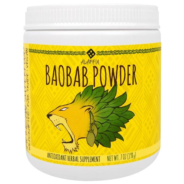 Alaffia, Baobab Powder, 7 oz (198 g) (Discontinued Item)