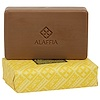 Alaffia, Triple Milled African Black Soap, Lemongrass Citrus, 5 oz (142 g)