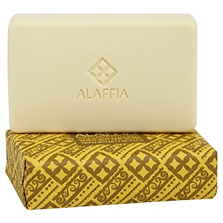 Alaffia, Jabón de manteca de karité molido tres veces, piña coco, 5 oz (142 g)