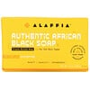 Alaffia, 正宗非洲黑皂三重研磨香皂,無香型,5 盎司(140 克)