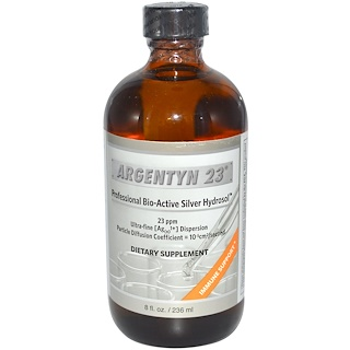 Allergy Research Group, Argentyn 23, Professional Bio-Active Silver Hydrosol, 8 fl oz (236 ml)