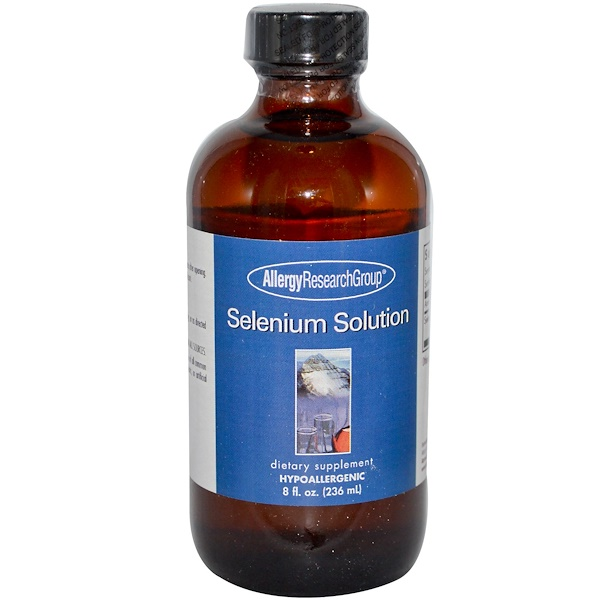 Allergy Research Group, Selenium Solution, 8 fl oz (236 ml) (Discontinued Item)