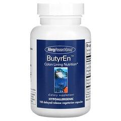 Allergy Research Group, ButyrEn,100 粒緩釋素食膠囊