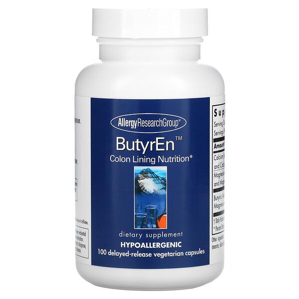 ButyrEn, 100 вегетарианских капсул с отсроченным высвобождением