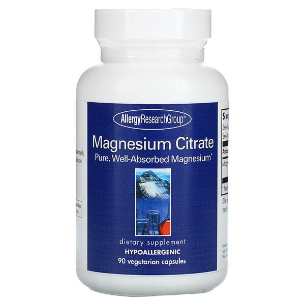 Magnesium Citrate, 90 Vegetarian Capsules