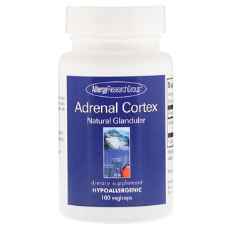 Allergy Research Group, Adrenal Cortex Natural Glandular, 100 Vegicaps