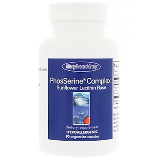 Allergy Research Group, PhosSerine Complex, 90 Vegetarian Capsules